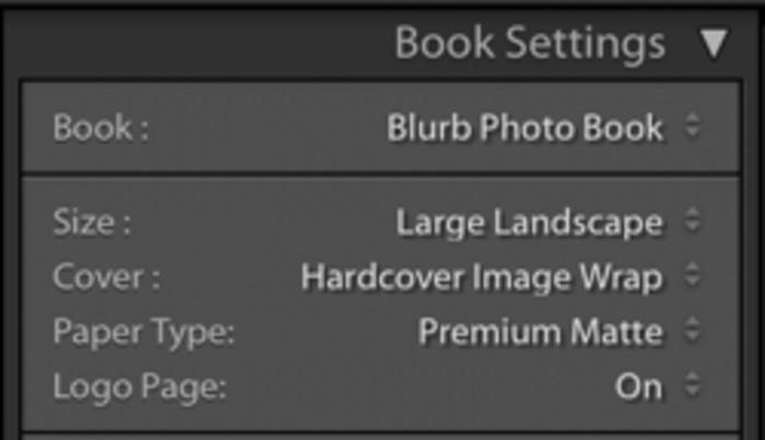 Illustrative photo of book settings