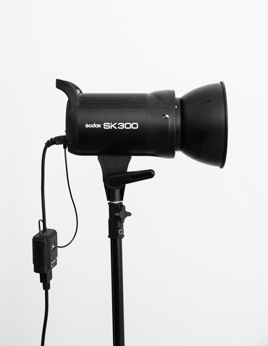 A strobe light for photography