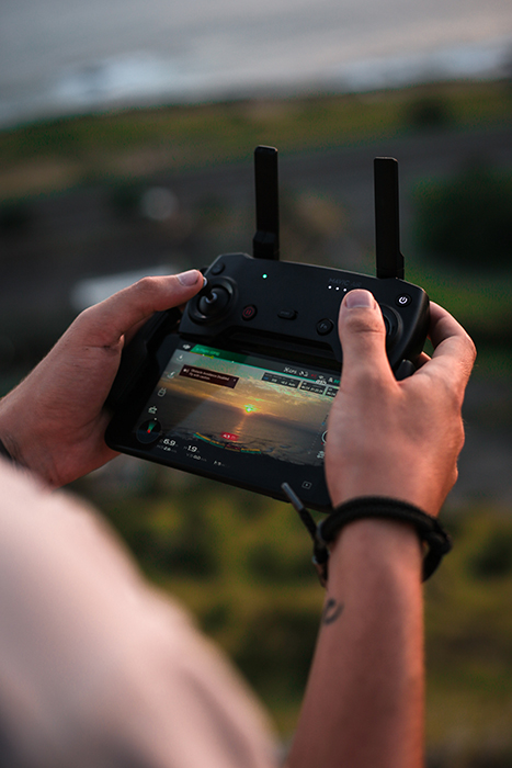 Photo of a drone control
