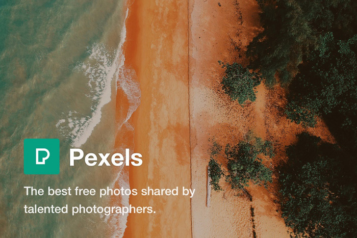 A screenshot of the Pexels free Photoshop plugins