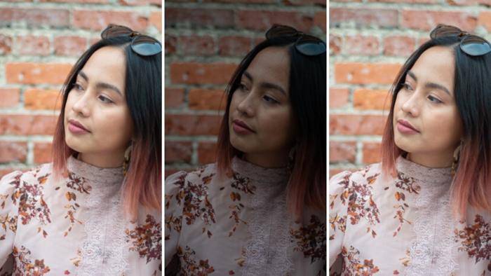 Portrait photos of a woman