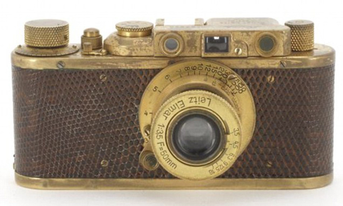 Gold-Plated Leica Luxus II