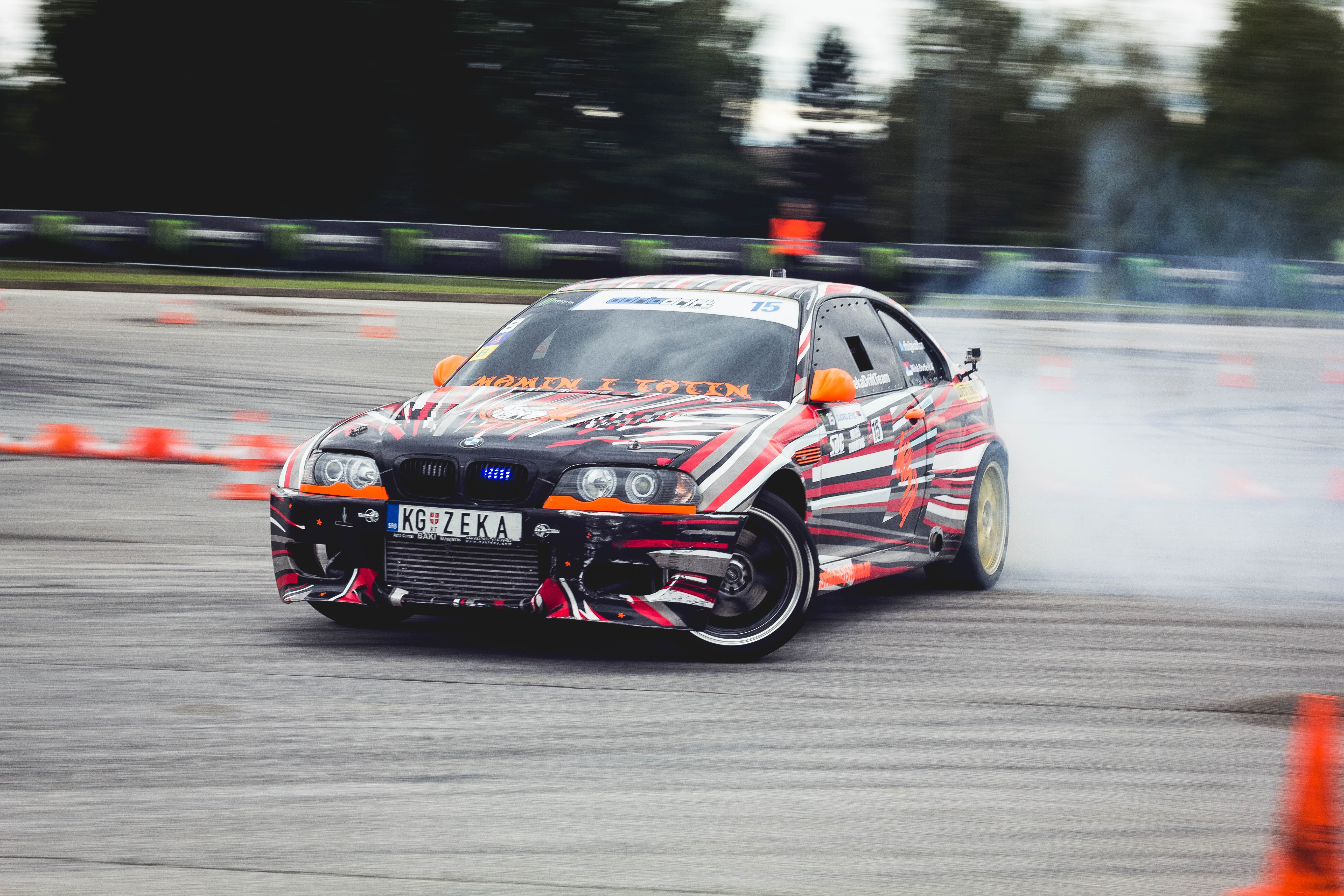 Photo of a racing car