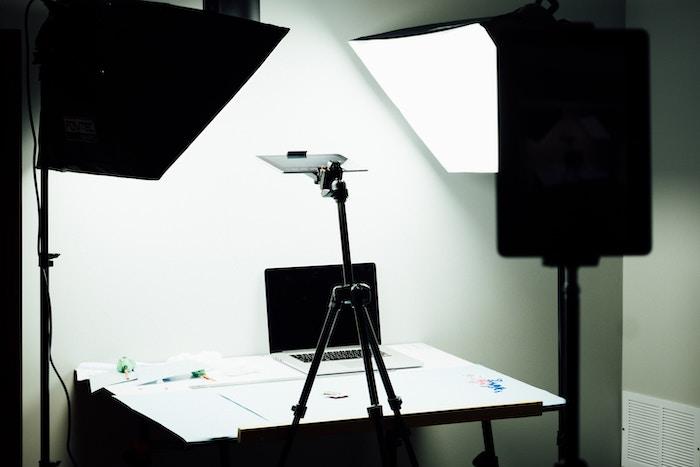 Lighting setup for shooting product photography