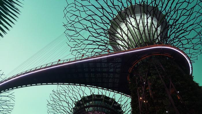 UV architecture photography