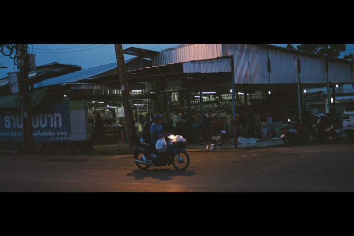 Photo of a guy on a motorbike