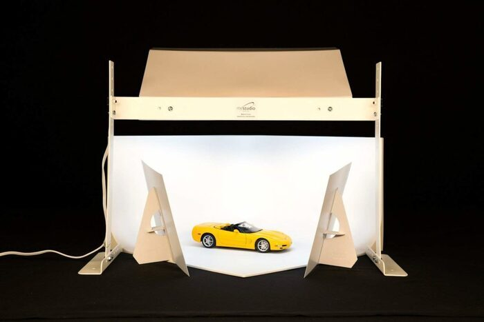 Photo of a light tent