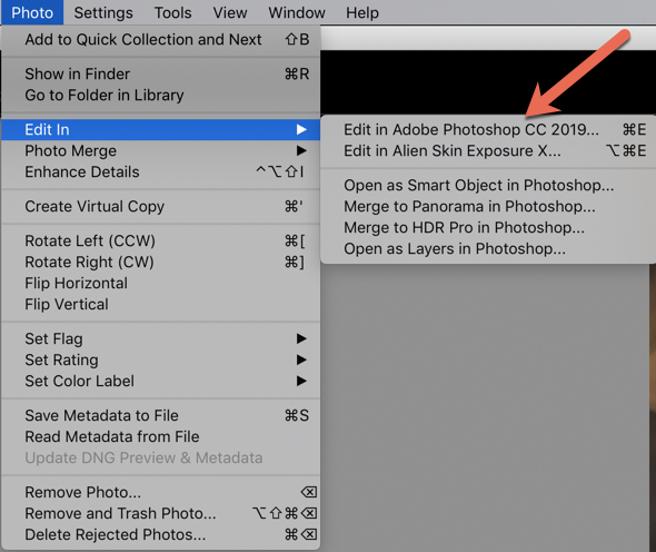A screenshot of editing fashion photography in Lightroom