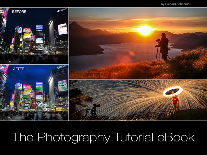 Screenshot from the photography tutorial ebook