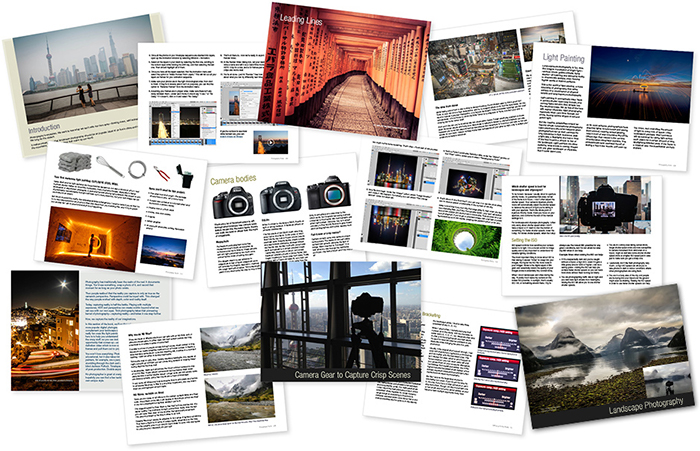 official image of the Photography Tutorial eBook