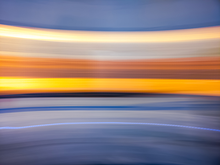 Abstract landscape photo