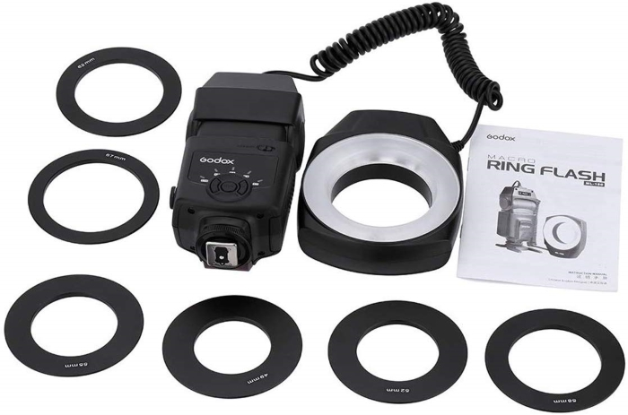 Godox macro flash ring set