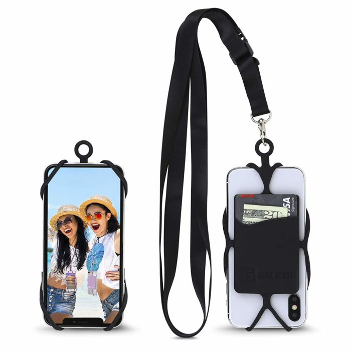 Gear Beast Universal Crossbody Pocket Cell Phone Lanyard