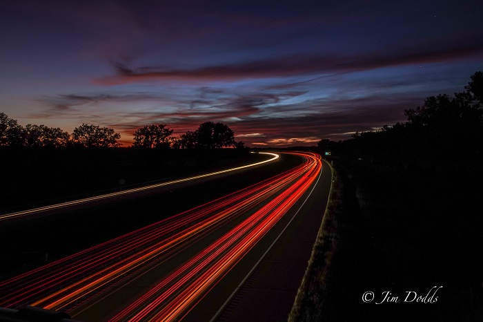 Light Trails Photo by Jim Dodd