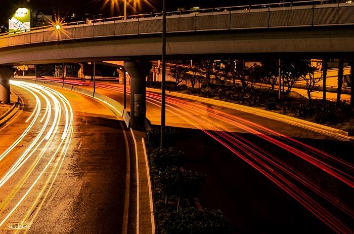 Light Trails Photo by Rosana Joubanian