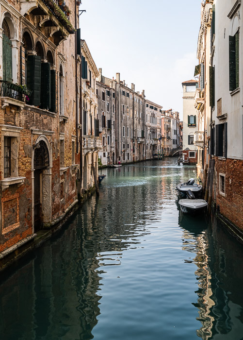 a canal in Venice, Italy.