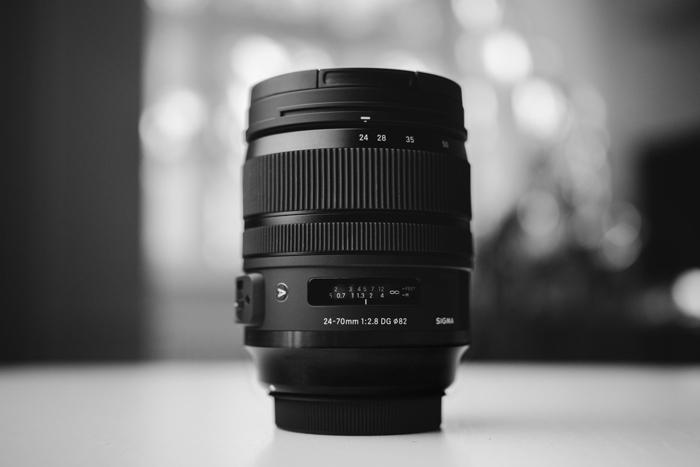 A 24-70mm lens