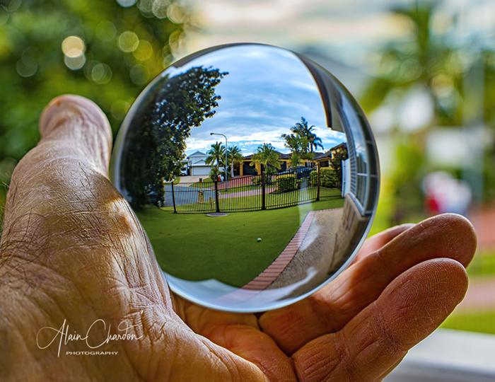 Crystal Ball Photography by Alain Chardon