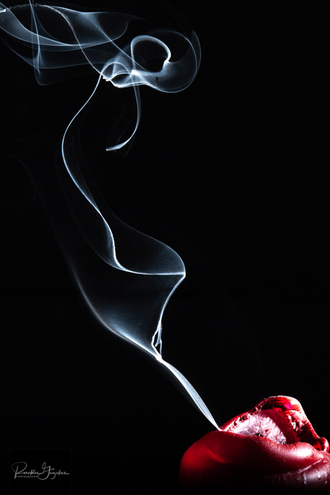 Abstract smoke photography
