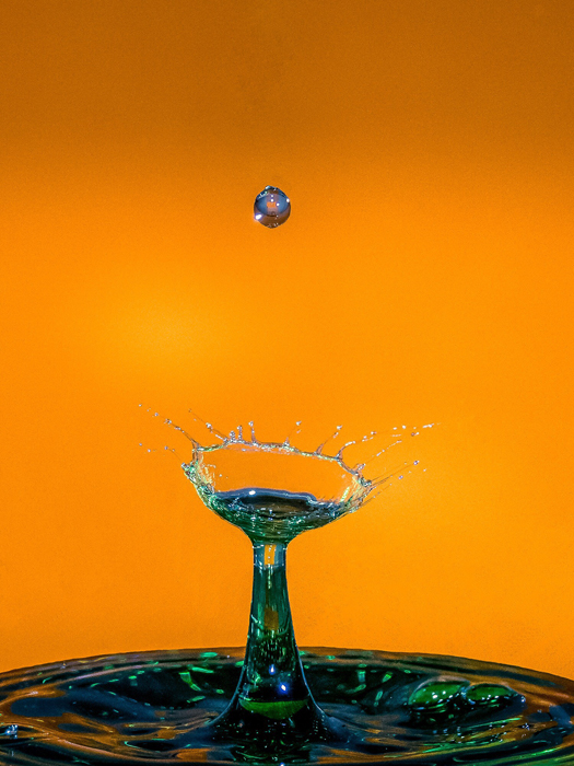Water drop photography by Romeo Villanueva