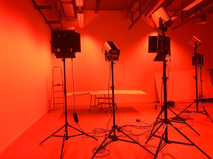 Une installation de studio de photographie