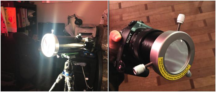 filter mount on a Skywatcher Skymax 90/1250 telescope