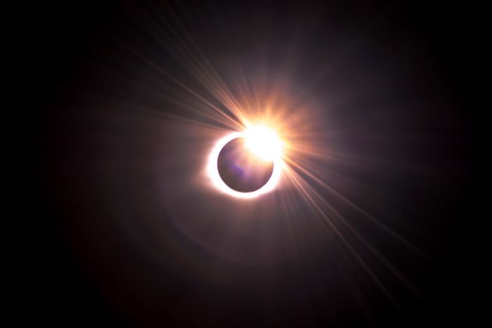 photo of the solar eclipse