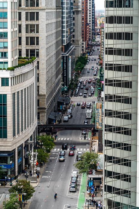 A city scene