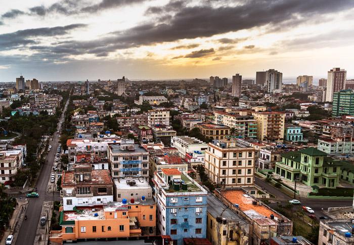 Aerial image of Havana, Cuba. Photo by Jenn Mishra