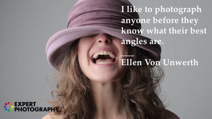Citações da fotografia de Ellen Von Unwerth