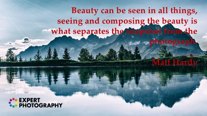 Photography quote by Matt Hardy