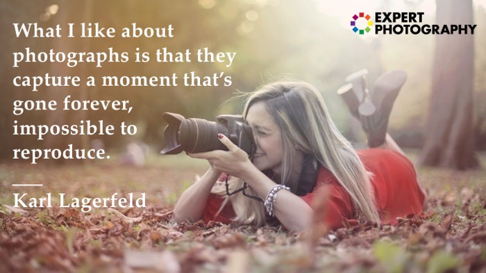 Photography quote by Karl Lagerfeld
