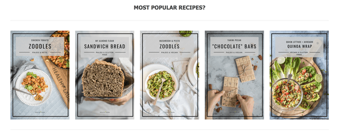 Five healthy recipes of food blogger Healthy Laura