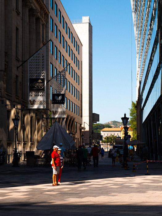 A street scene