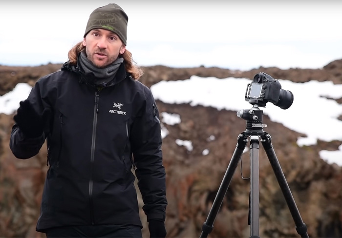 The presenter of Fstoppers 'Photographing the World 1' Landscape Photography Course