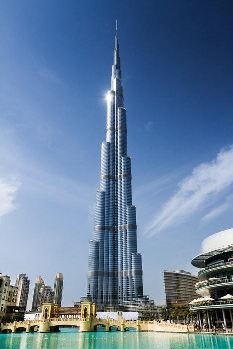photo of a tall skyscraper
