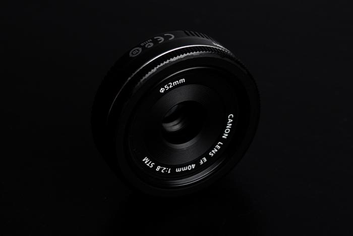 Lente Canon EF 40 mm f / 2.8 STM