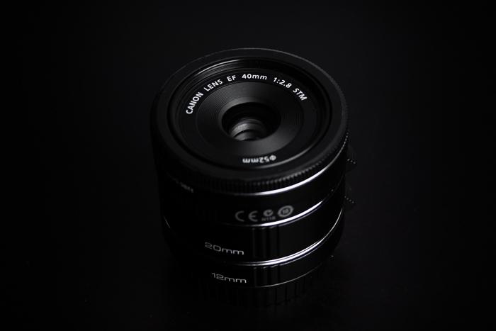 Lente Canon Pancake EF 40 mm f / 2.8 STM