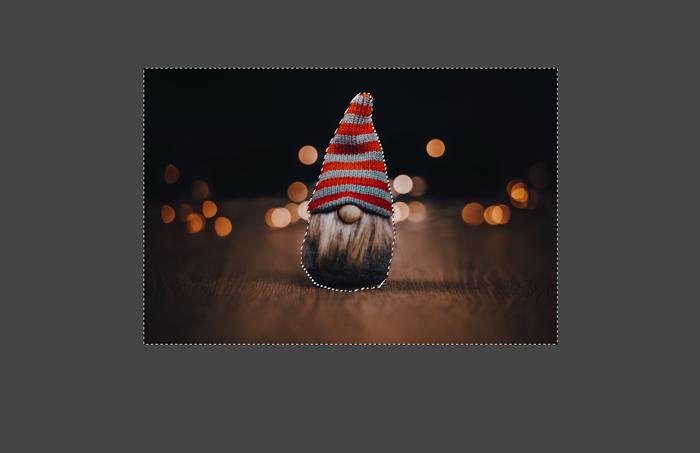 captura de tela mostrando como inverter uma imagem no GIMP