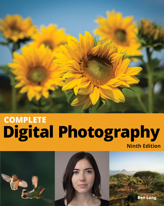 The cover of 'Complete Digital Photography ' book by Ben Long