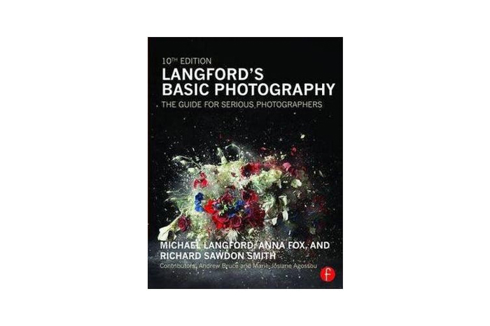 Front cover of the 'Langford's Basic Photography: The guide for serious photographers' by Michael Langford