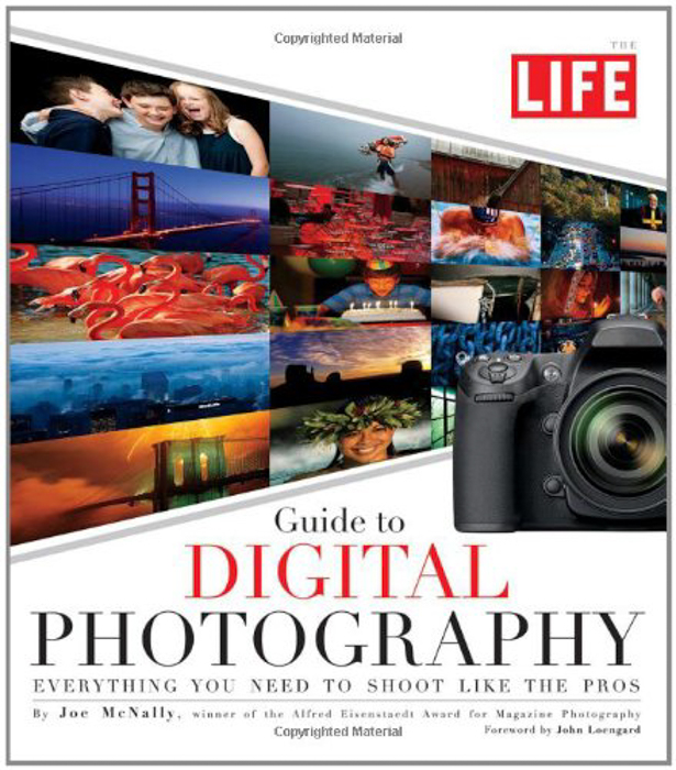 The cover of 'LIFE Guide to Digital Photography' book by Joe McNally