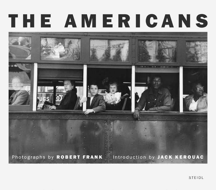 'The Americans' book cover by Robert Frank
