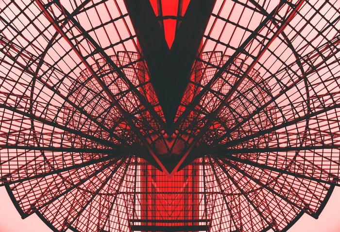 Fotografia arquitetônica abstrata