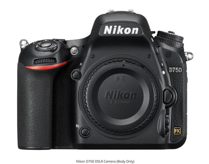 Nikon D750 best camera for real estate photography