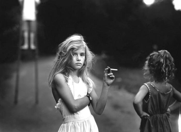 Candy Cigarette - Sally Mann (1989)