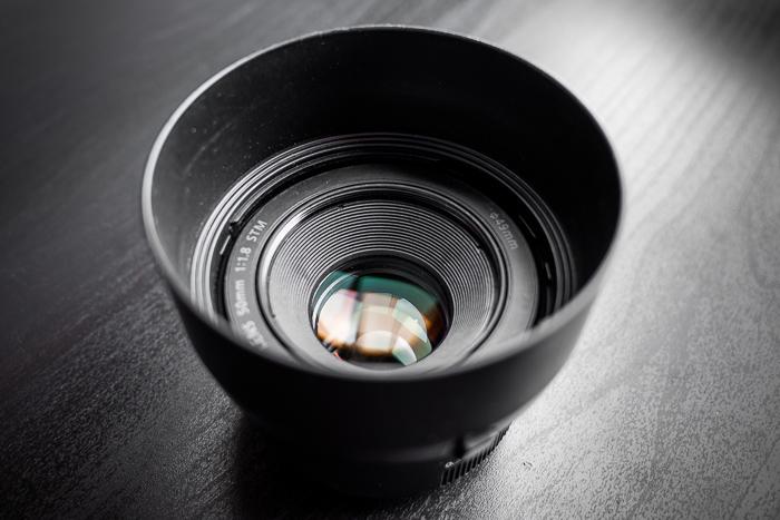 Lente Canon EF 50mm f 1.8