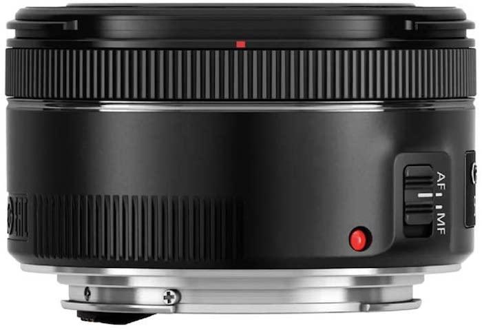 Lente Canon EF 50mm f / 1.8 STM