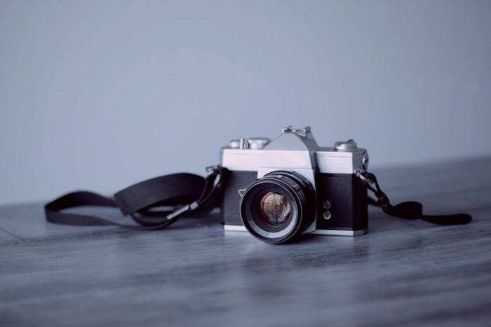 Câmera de filme antiga