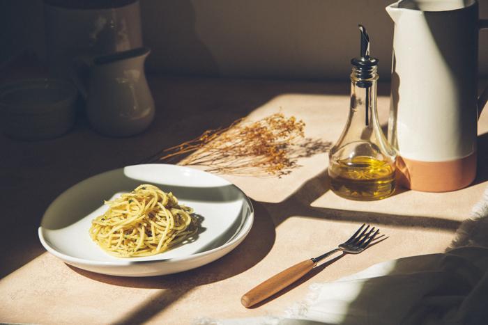 Soft shadowy food photo